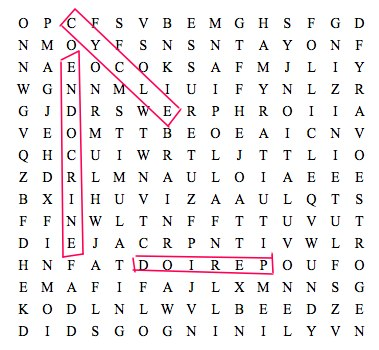 Word Search puzzle featuring menstrual cycle terms