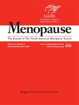 Cover of journal MENOPAUSE