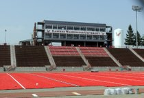 EWU's new red turf