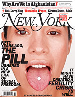 The Pill makes the cover of NY Mag