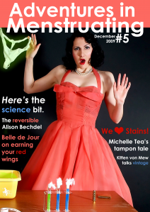 Cover of Adventures in Menstruating issue #5